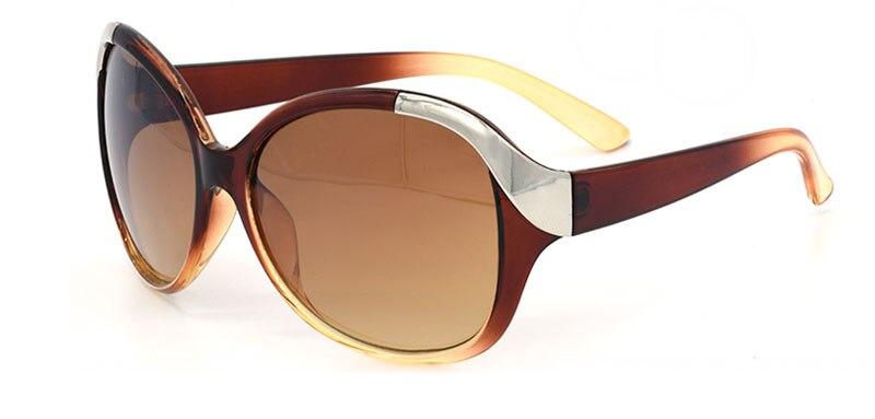 High Quality Fasion Large Frame Women Sunglasses Luxury Fashion Summer Style Sun Glasses Women's Vintage Sun Glasses 167M 1