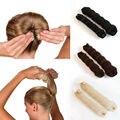 Fashion 1PC Women Hair Style Hair Tool Nylon Hair Ring Magic Foam Sponge Disc Hairball Meatball Headwear Hair Accessories