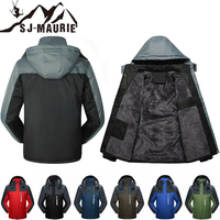 SJ Maurie Windproof Men's Breathable Ski Jackets Winter Warm Outdoor Sport Snow Skiing Snowboarding Male Hiking Coats M 6XL
