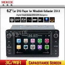 Ücretsiz Kargo Çekinme Araba Multimedya DVD Oynatıcı Radyo Mitsubishi Outlander/Lancer/ASX 2013-GPS Navi Ile BT dvd Ücretsiz Harita