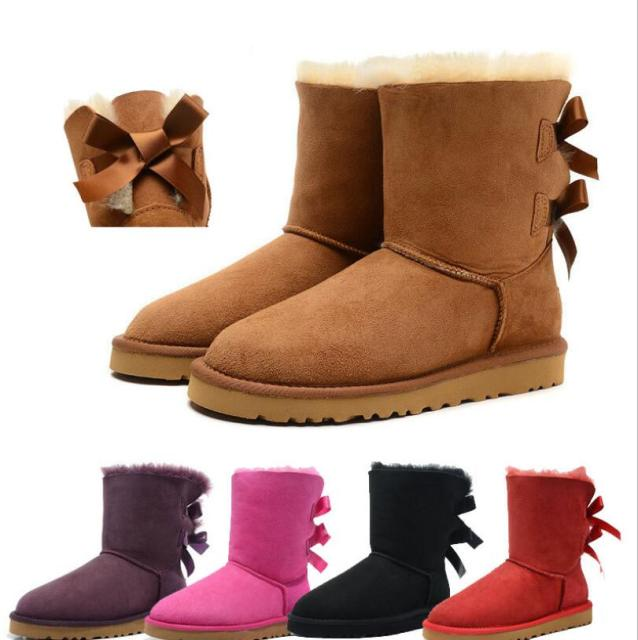 2018 knot children winter keep warm snow boots kids Fashion Martin Boot baby girls hard sole outdoors playing shoes