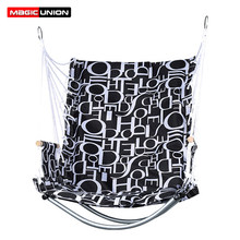 Magic Union Bedroom Dorm Porch Tree Hanging Hammock Rope Chair Swing Seat Indoor Outdoor Seating Chair For School Dorm(China)