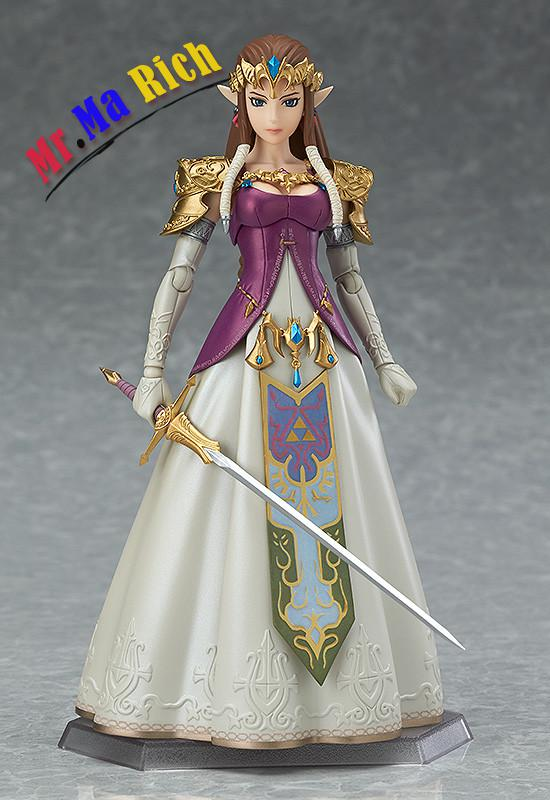 Gsc Original Figma 318 The Zelda Twilight Princess Collection Garage Kit Action Figure For Fans Holiday Gift