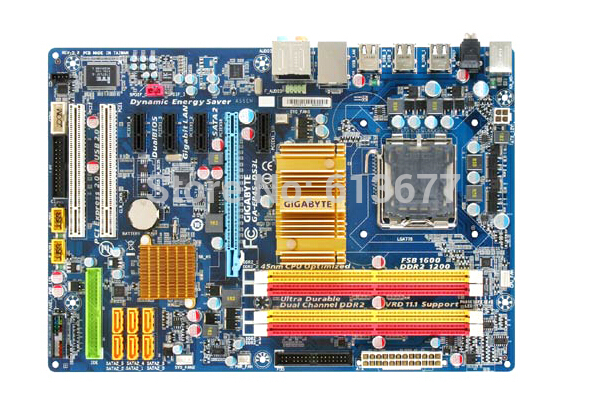 Free shipping original motherboard for Gigabyte GA-EP45-DS3L LGA 775 DDR2 EP45-DS3L boards P45 Desktop Motherboard цена