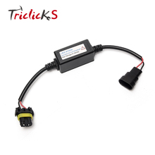 Triclicks 9005 HB3 9006 HB4 9012 HIR2 Headlight LED Decoder Resistor Canbus Harness Adaptor Error Free Canceller Decoders