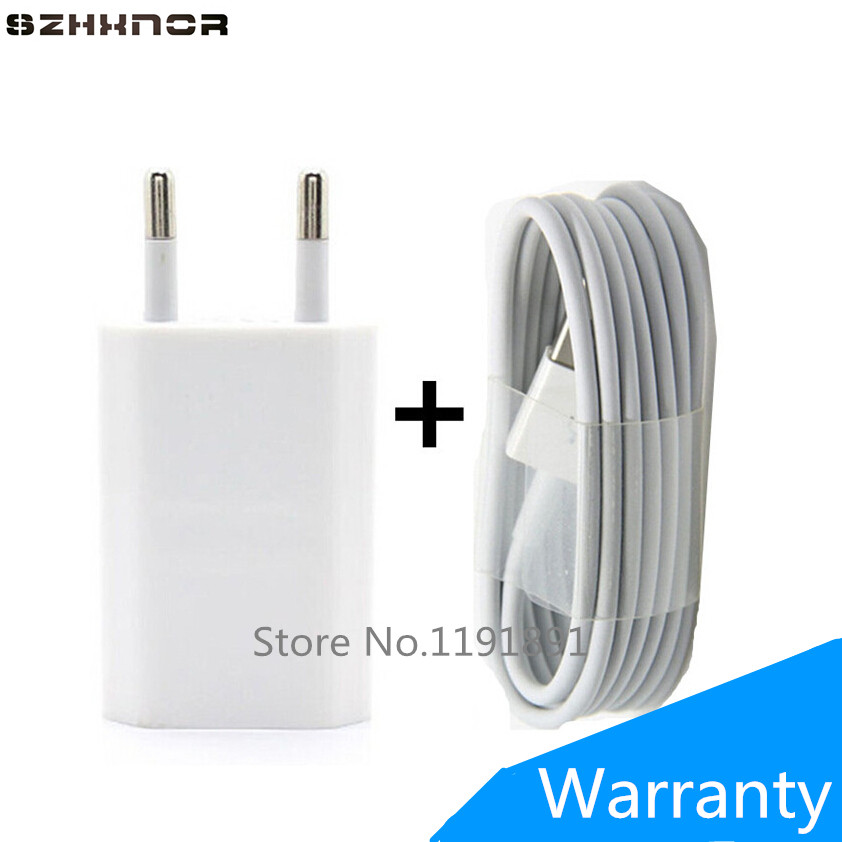differently 28d48 0edde US $2.79 |SZHXNOR Mobile Phone Charger For Iphone 7 5 5S 6 PLUS 8 USB Wall  Chargers EU + USB Data Sync USB For IOS 11 For iphone X ipod-in Mobile ...
