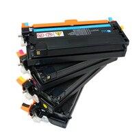 Восстановленный высококачественный C3300 C2200 черный голубой Желтый Пурпурный тонер-картридж для Fuji Xerox DocuPrint C3300/2200