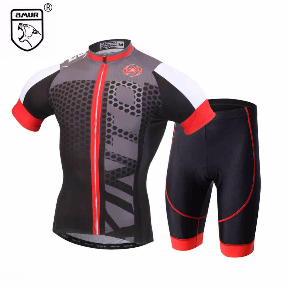 Amur Leopard Cycling Jersey Shorts set Ropa Ciclismo Quick Dry Team Pro Bike Wear Mens Sports Maillot Culotte полотенцесушитель milardo amur amusm10m49