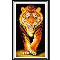 5D DIY Diamond Painting Animal Tiger Diamond Embroidery Cross Stitch Rhinestone Mosaic Painting Home Decor