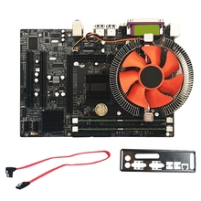 G41 Desktop Motherboard For Intel Cpu Set With Quad Core 2.66G Cpu E5430 + 4G Memory + Fan Atx Computer Mainboard Assemble Set цена