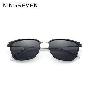 Image 3 - KINGSEVEN Gafas De Sol polarizadas para hombre, lentes De Sol polarizadas clásicas para conducir, viajes, Unisex, 2018
