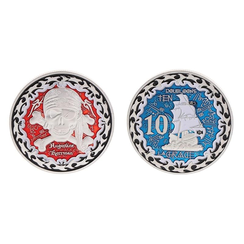 Пам'ятна монета Відомий пірат - Домашній декор
