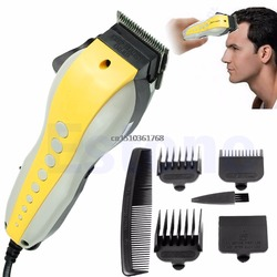 Pro complete hair cutting kit stainless iron blades clippers trimmer shaver hot y05 c05 .jpg 250x250