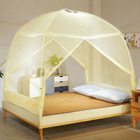 1.7m tall,High quality Portable Folding Mosquito Net Yurt Insert Mesh Adult Bed Canopy Kids Moustiquaire Foldable Tent Bed Nets