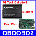 Newest Version FGTech Galletto 4 ECU Chip Tuning Tool Master V54 FG Tech Car Flasher No Need Activation Add BDM OBD Function