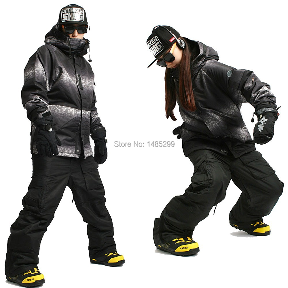 New Edition ''Southplay'' Winter Waterproof 10,000mm Warming (Jacket +Black Pants)Sets - South Roma Military