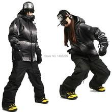 "New Edition ""Southplay"" Winter Waterproof 10,000mm Warming (Jacket +Black Pants)Sets - South Roma Military"