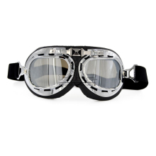 Bjmoto Vintage Helmet Goggles Retro Style Motorcycle Scooter riding cycling eyewear glasses goggle