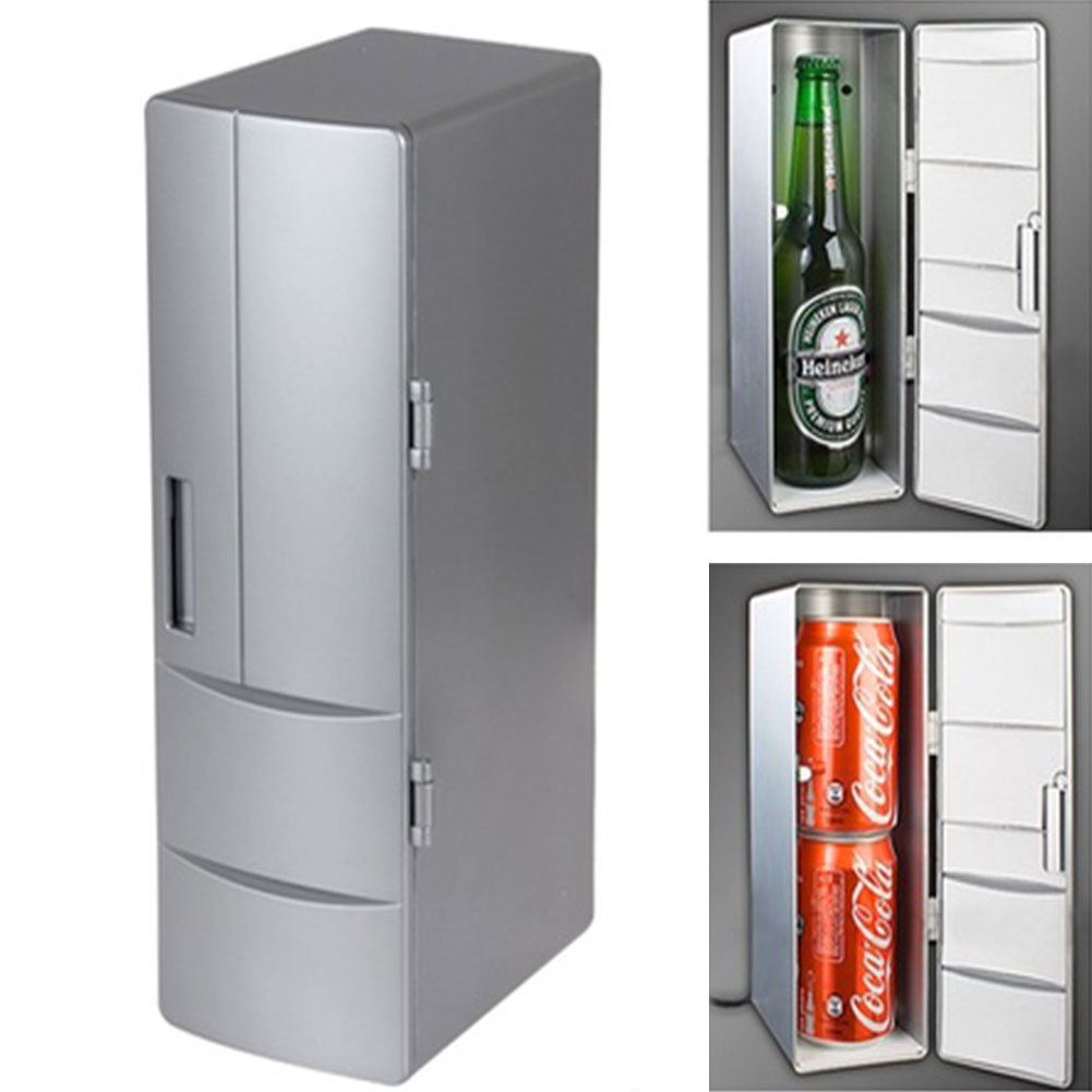 2019 Drop Shpping Refrigerators Mini White Fridge Warmer for Drink Can