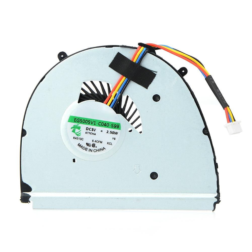 hight resolution of 1 piece compatible for lenovo u310 laptop cooling pads 7 6cm laptop fans components fan dc 5v