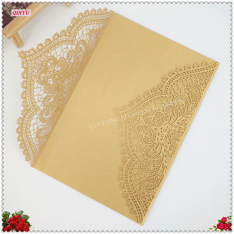 10pcs/pack Classic Wedding Invitations Cards Blank Inner Sheet Birthday  Party Invitation Card Wedding Place