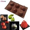 SHENHONG три в одном  3D форма  антипригарная силиконовая форма для торта  формы для искусства