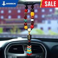 DREAM CAR car accessories bodhi agate interior decoration mirrorrear view mirror hanging accessories Chinese lucky charm
