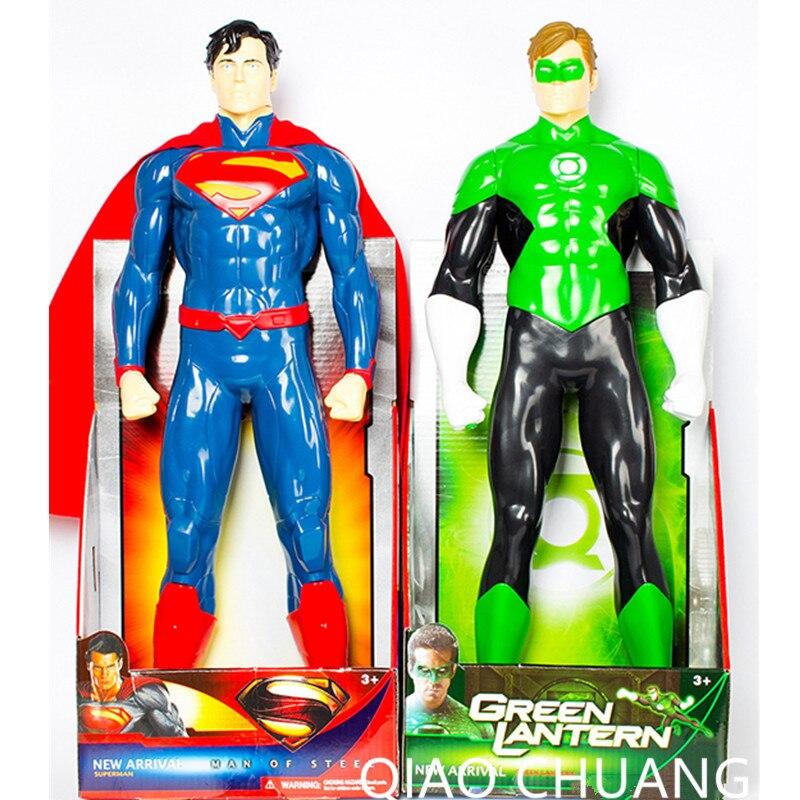 50CM Avengers:Infinity War Superhero Clark Kent Superman Hal Jordan Green Lantern PVC Action Figure Collection Model Doll G44950CM Avengers:Infinity War Superhero Clark Kent Superman Hal Jordan Green Lantern PVC Action Figure Collection Model Doll G449