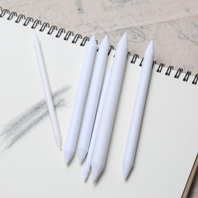 Office & School Supplies 6 Stücke Set Gummi Doppel Kopf Gewidmet Skizze Papier Stift Pastell Holzkohle Papier Skizze Zeichnung Kunst Malerei Lieferungen Weiß Stift