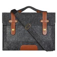 Mosiso Фетр ноутбука сумка для Acer Asus Dell 13.3 15.6 дюймов ноутбук сумка чехол для MacBook Air Pro 13 15