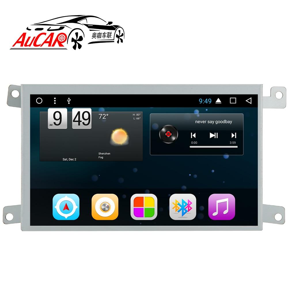 AuCAR Android 6 0 Car multimedia for Audi A6 A6L LHD RHD Car DVD font b