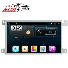 AuCAR Android 6,0 штатную для Audi A6 A6L LHD RHD dvd-плеер автомобиля 2005-Quad core радио с Bluetooth и GPS WI-FI 4G стерео ips