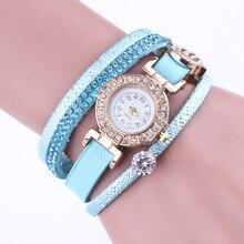Luxury Crystal Watch Women Rose Gold Leather Jewelry Bracelet Wrist Watches For Women Fashion Quartz Watch Ladies Clock kol saat все цены