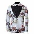 2017 Nuevos Hombres de Trajes de Equitación Marca Formal de sistema Del Juego Del Vestido de Boda de Los Hombres Trajes de Novio Esmoquin (Jacket + Pants + Tie)