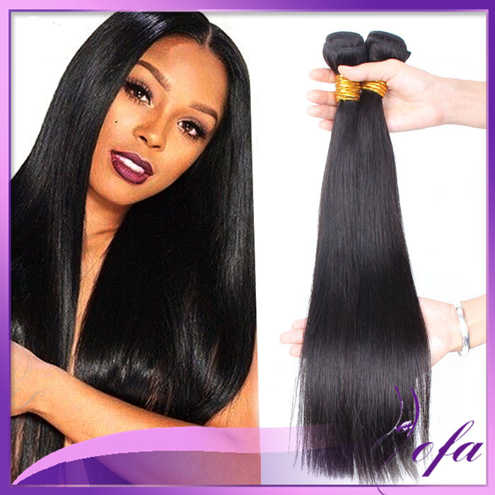 Human Hair Weave Remy Bohemian Hair Weave Straight Extensions 34