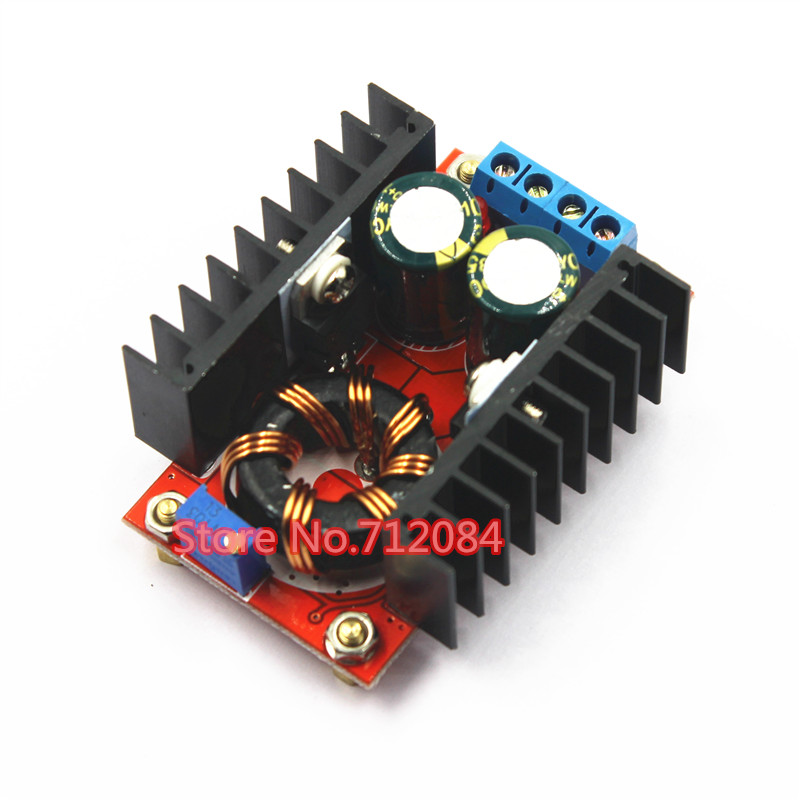 цена на 150W Boost Converter DC-DC 10-32V to 12-35V Step Up Voltage Charger Module Laptop Power