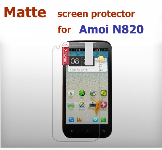 2 * Matte Screen Protector Guard Cover FILM For Amoi N820 Phone, free shipping