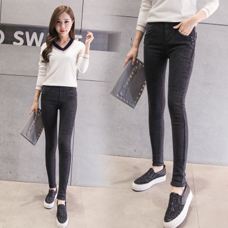 Popular Girls Black Skinny Jeans-Buy Cheap Girls Black Skinny ...