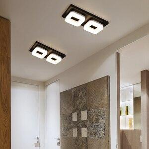 Image 3 - Artpad 12 واط الحديثة مصباح LED للسقف التيار المتناوب 110 فولت 220 فولت ضوء السقف لمطعم فندق الممر الممر شرفة تركيبة إضاءة