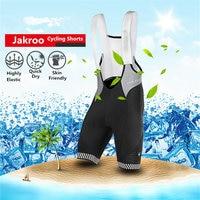 Jakroo TB Men S 1 2 Cycling Bib Shorts With Straps Mesh Italian Cushion Sweat Releasing