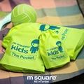 M Cuadrados Accesorios de Viaje Necessaries 3 unids Conjunto Para Los Niños bolsa de Viaje Bolsa de Almacenamiento Conjunto Organizador de Bolso de Lazo
