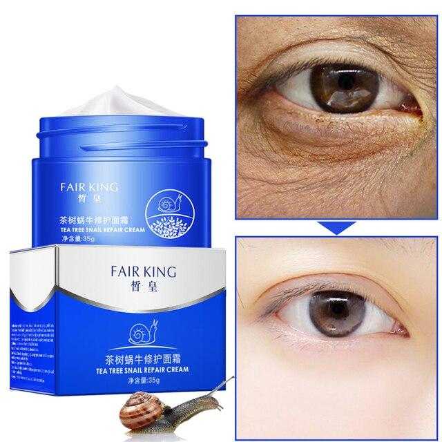 Eyes Makeup Primer Liquid Snails Essence Anti Pores Wrinkle Oil Control Cosmetics Tea Tree Skincare Moisturizing Make Up Base 1