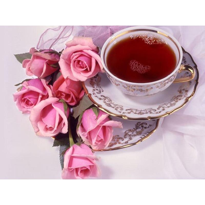 Картинках, розы открытка доброе утро