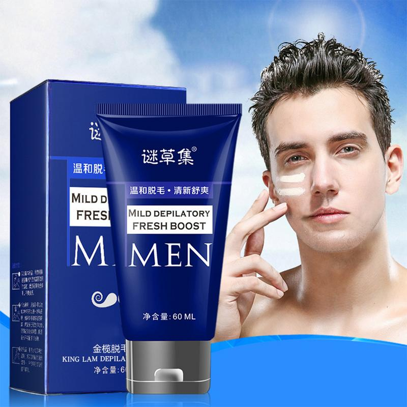 60ML Depilatory Cream Hair Removal Armpit Arm Leg Hair Painless For Men Women Genitals Axillary Body Hair Remove Beauty Spa 10 image