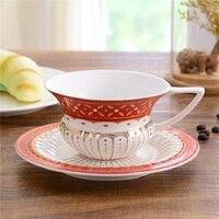 Anglais après-midi thé Royal café tasse plat de Haute qualité en céramique thé ensemble