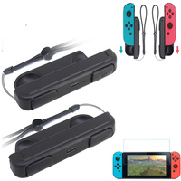 2pcs Portable Mini Charging Grip Charger Holder For Nintend Switch Joy Con N Enhanced Playing Hand