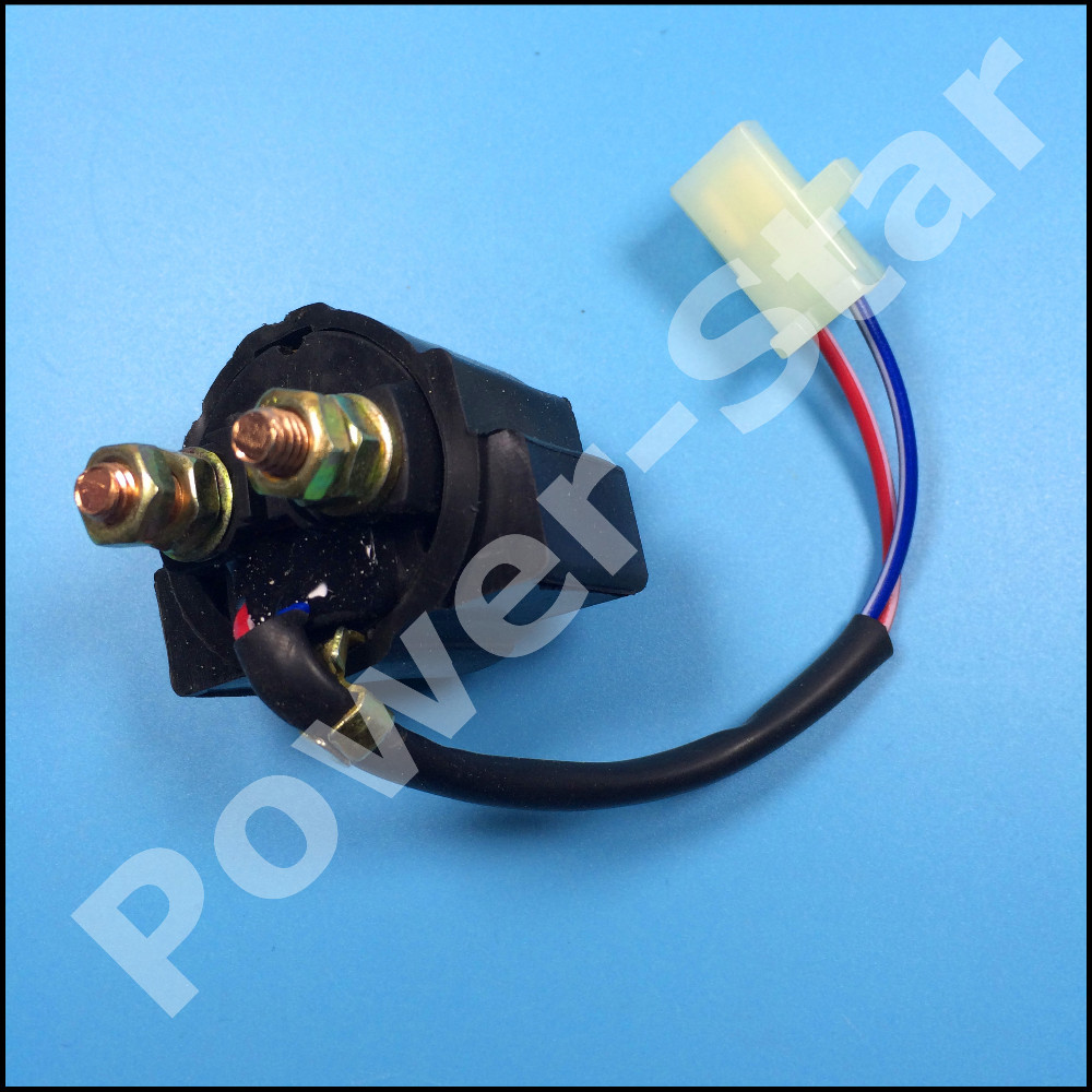 medium resolution of motorcycle starter relay solenoid for yamaha grizzly 600 yfm600 atv quad 1998 2001
