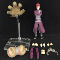 Anime action figure Naruto Gaara action Movable joints Shippuden with box collection 15cm toy model gift dolls Y7514