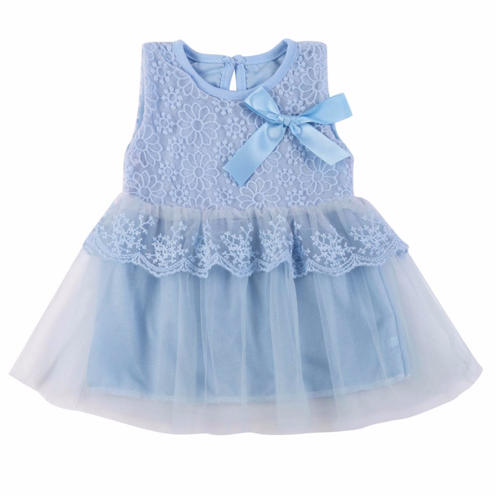 Dress Kids Ball-Gown Birthday-Party Girls Princess Summer Clothing Cotton Bow for Children title=