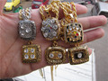 1974 1975 1978 1979 2005 2008 Pittsburgh Steelers Super Bowl championship Necklace Pendant 1 set Together set wholesale fan gift